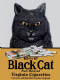 Black Cat Cigarettes fridge magnet  (og)